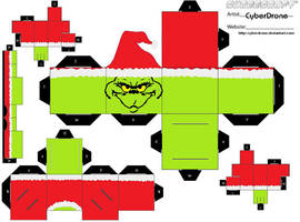 Cubee - The Grinch by CyberDrone