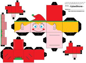 Cubee - Elf 1 by CyberDrone