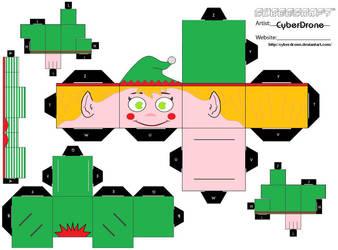 Cubee - Elf 2 by CyberDrone