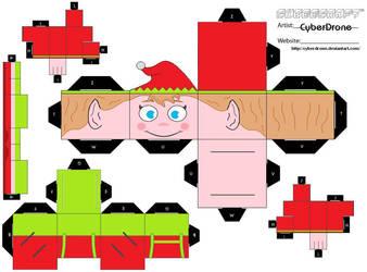 Cubee - Elf 3 by CyberDrone