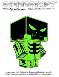 Cubeecraft - Gamma Raymond by CyberDrone