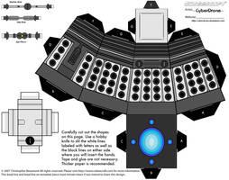 Cubee - Dalek 2010 'Ver5' by CyberDrone