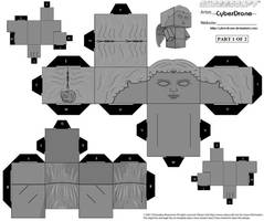 Cubee - Weeping Angel 1 by CyberDrone