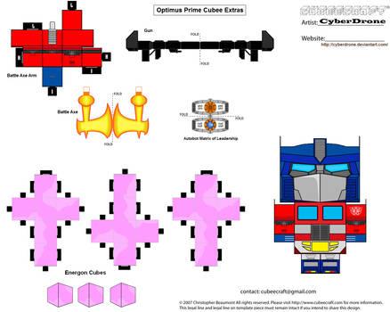 Cubee - Prime 'Gen 1' Xtras by CyberDrone