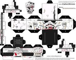 Cubee - Zombie Trooper by CyberDrone