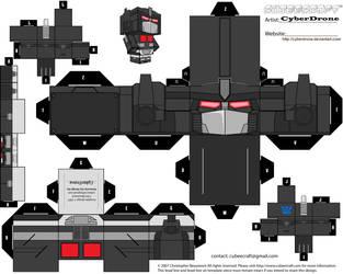 Cubee - Nemesis Prime 'Gen 1' by CyberDrone