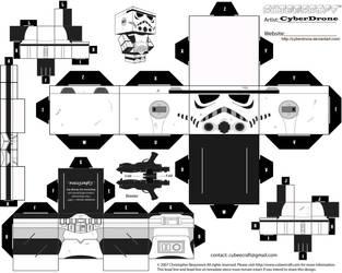 Cubee - Stormtrooper by CyberDrone