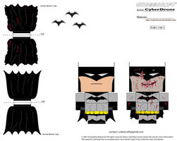Cubee - Batman '2of2' by CyberDrone