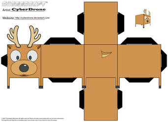 Cubee - Reindeer by CyberDrone