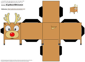 Cubee - Rudolph by CyberDrone
