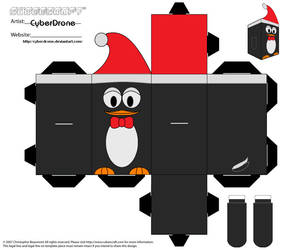 Cubee - Christmas Penguin by CyberDrone