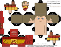 Cubee - Rory Williams 'Ver3' by CyberDrone