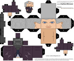 Cubee - 12th Doctor 'Regenerated' by CyberDrone