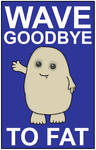Mini Poster - Adipose by CyberDrone