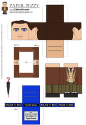 Paper Pezzy- The 7th Doctor by CyberDrone