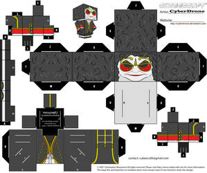 Cubee - Clockwork Droid 'Ver2' by CyberDrone