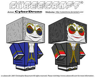 Cubeecraft - Clockwork Droids by CyberDrone