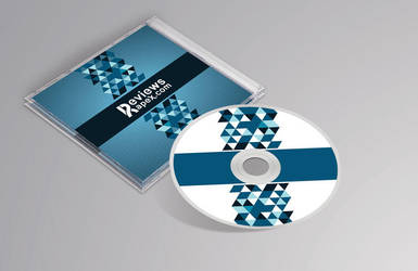 Photorealistic CD Cover MockUp by ArenaReviews
