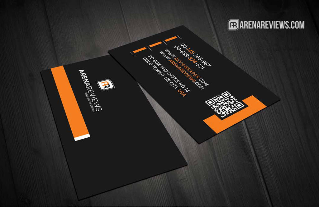 Black Corporate Elegant Business Card Template By Arenareviews On