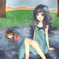 Let's take a hot bath! by Mara-n
