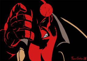 Hellboy Fanart by TreasureFanboy