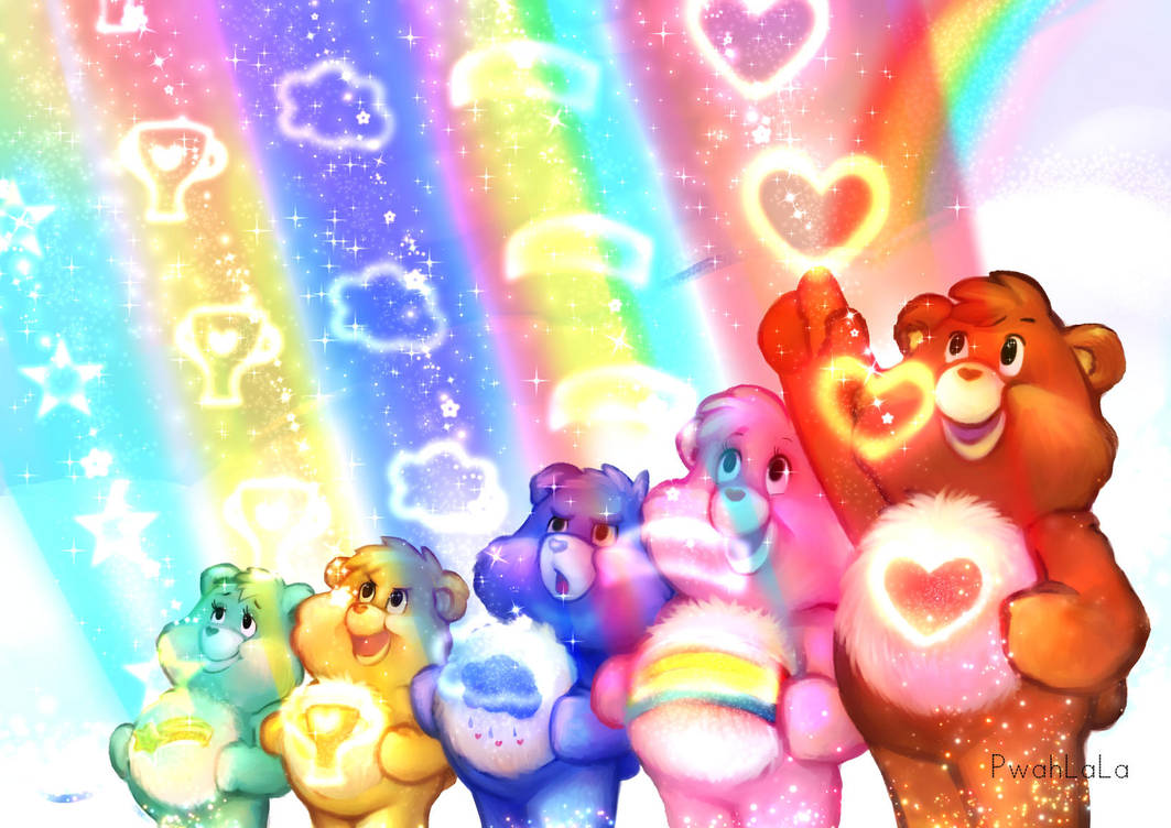 Care Bear Stare by PwahLaLa on DeviantArt
