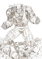 Colossus - Age of Apocalypse by mpazin