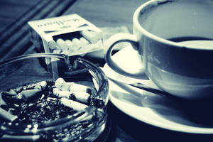 Coffee and cigarettes by Kukuruki