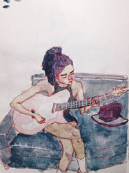 [folks of IG] guitar hija from imago (?) by jeantralala