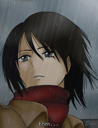 Mikasa Ackerman by Haradane