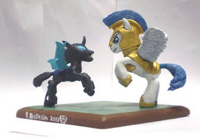 MLP:FIM Duel Thingy by uBrosis