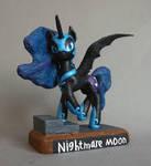 MLP:FIM Nightmare Moon by uBrosis