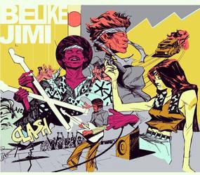 Be Like Jimi by Laharu