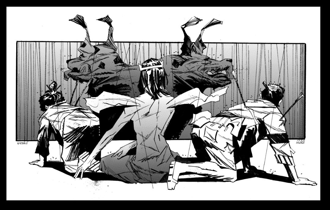Grim Reaper (BW) by Laharu