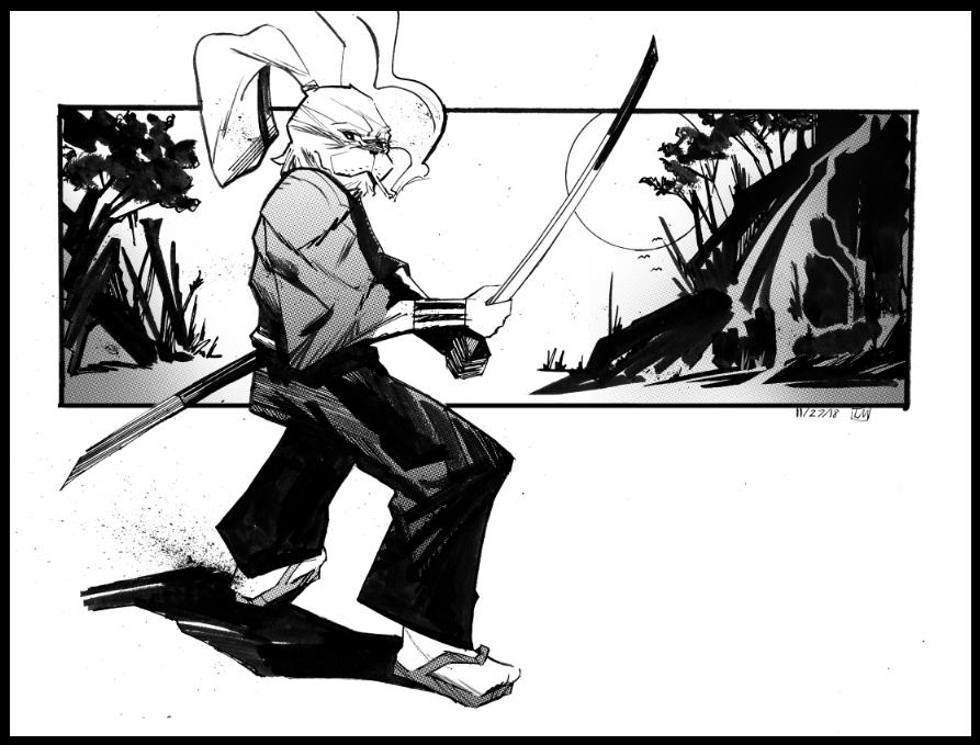 Usagi Yojimbo by Laharu