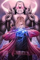 Fullmetal Alchemist by Mimibert