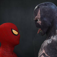 Spider-Man Vs Venom by 6and6