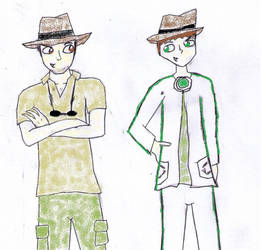 Dylan and Rick - Partners in Adventure ** by hannahml