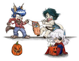 Recycled Halloween no. 2 by Silver-Falcon