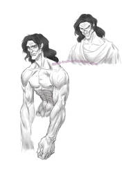 Frankenstein's Creature by Silver-Falcon