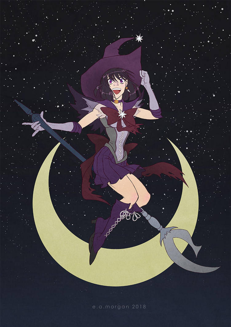 witchy saturn by Silver-Falcon