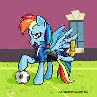 Another day, another trophy by chaosmalefic