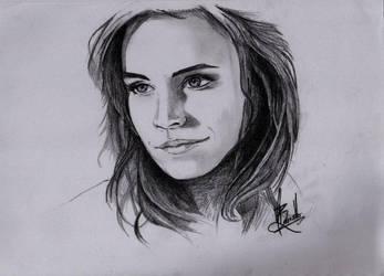 Emma Watson by craigbarretto