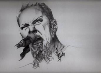 James Hetfield by craigbarretto
