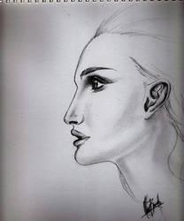 Natalie Portman by craigbarretto