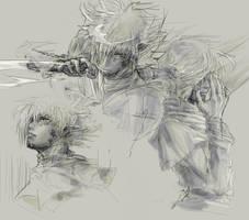 Zel - rough sketch by 6elz