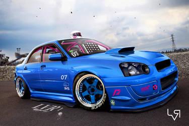 Subaru STI track day by Leo-Vectori-Rocha