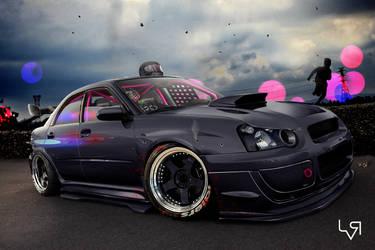 Subaru STI Road Killer by Leo-Vectori-Rocha
