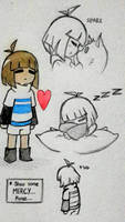 Epictale Pacifist!Frisk by YugoGeeR12