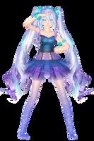 TDA Sea Witch Miku by StressaSan